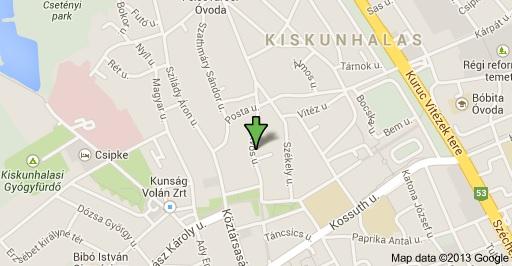 kiskunhalas térkép Hunkár Német Nyelviskola kiskunhalas térkép